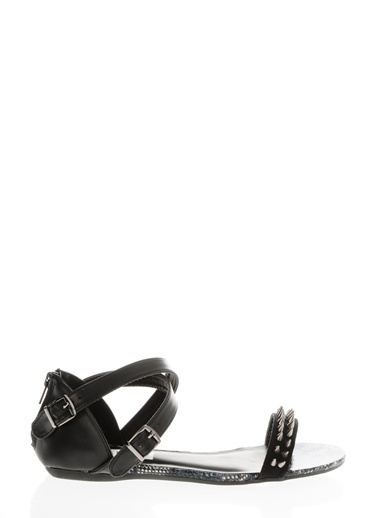 Casa Rossi Sandalet Siyah